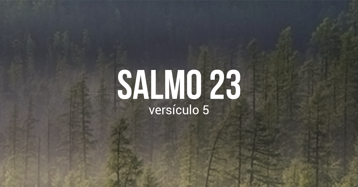 Devocional no Salmo 23